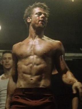 Diet tyler durden Brad Pitt